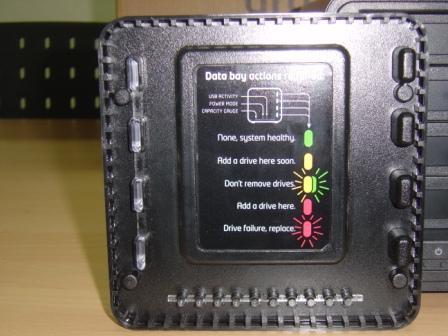 Drobo led indication