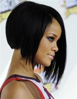 Rihanna's Inverted Bob