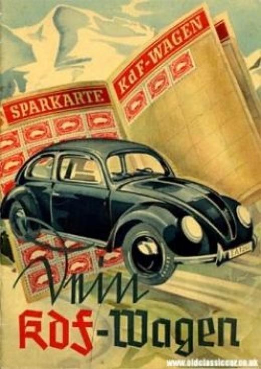 KdF Wagen Volkswagen Beetle History