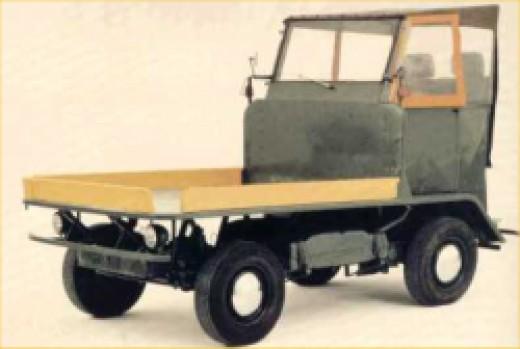 Volkswagen Bus Transporter First Prototype