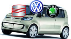 Volkswagen group - VW - Seat - Skoda - Logos