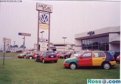 1996 Volkswagen Golf III Harlequin