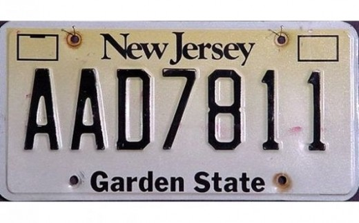 1992 - New JerseyLast state to switch to reflective license plates