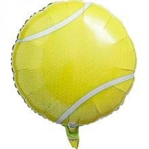 Mylar Tennis Ball Balloon