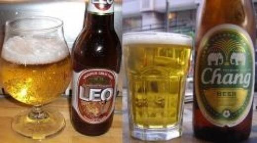 Tasty Thai Beers: Leo & Chang