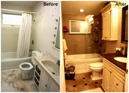 *Before and After* Bathroom Remodel