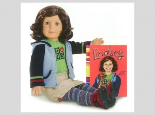Lindsey Bergman - 2001 American Girl of the Year