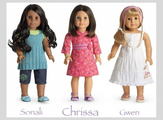 Chrissa Maxwell - 2009 American Girl of the Year, Plus Her Best Friends Sonali Mathews & Gwen Thompson