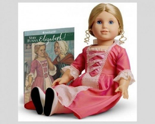 Elizabeth Cole, 1774 Historical American Girl Doll