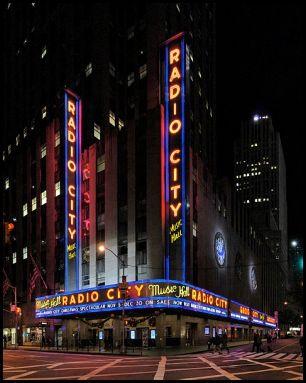 Radio City Music Hall Panorama