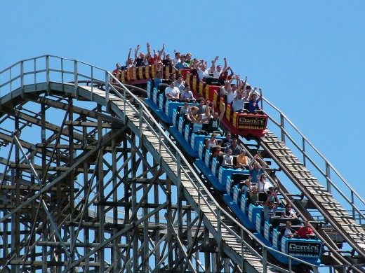 The Gemini -- The Racing Coaster