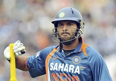 Yuvraj Singh is brilliant in his shot selection...!