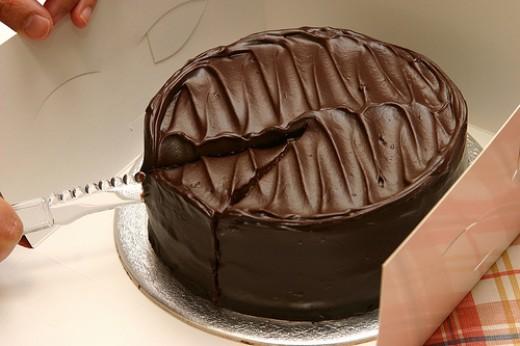 Chocolate Sponge Cake Recipe with Chocolate Frosting