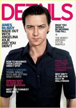 James McAvoy Details Magazine