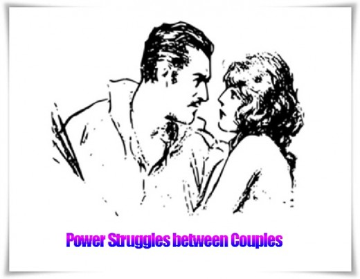Power Struggles between Couples can ruin the relationship. However, it is not difficult to overcome it and not let it damage a Marriage or Love affair.