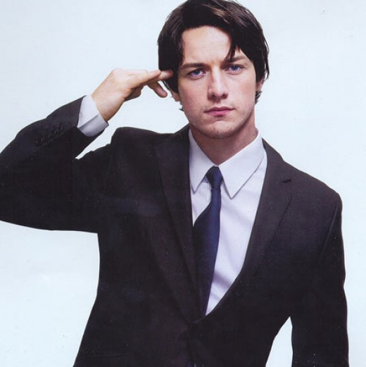 from James McAvoy's Esquire photo shoot