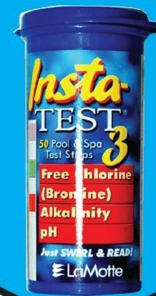 Hot Tub Test Strips