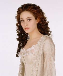 Emmy Rossum as Christine Daae for the 2004 film.