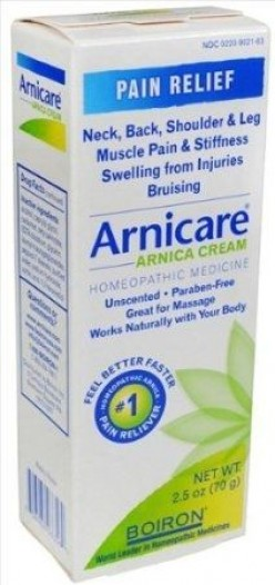 What is arnicare? Homeopathic bruise treatment