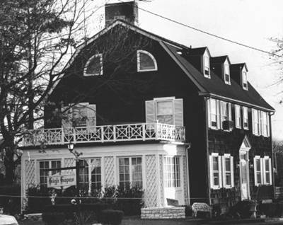 It was the house at 112 Ocean Avenue in Amityville Long Island where the real horror began...