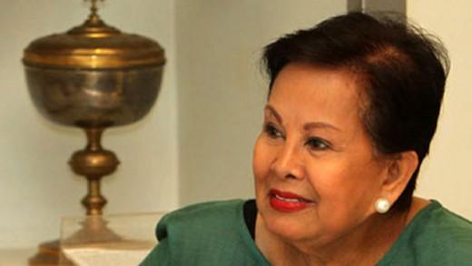 Elenita Binay, Jojo's wife and former Makati Mayor