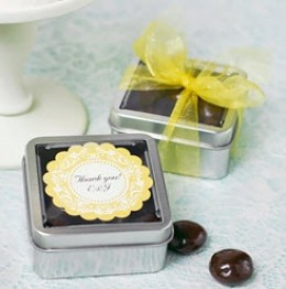 Chocolate Covered Almond Favors
