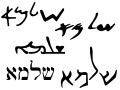 If your translator doesn't really know Aramaic than this is all Greek to them!