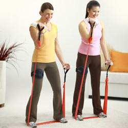 Bicep curls with the EA SPORTS Resistance Band