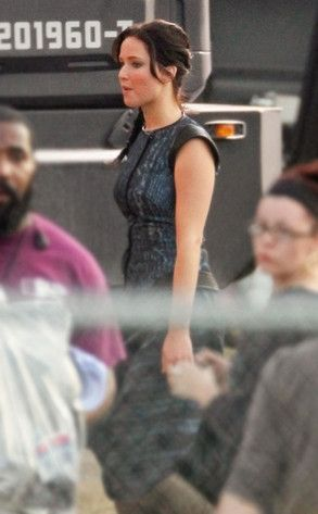 Catching Fire Movie Set Photo