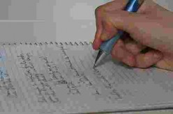 A pen and paper are your basic tools