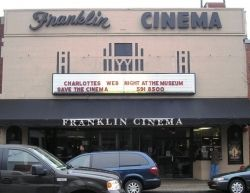 The Franklin Theatre prior to restoration.