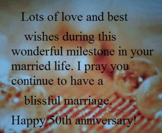 50 Quotes About Love And Marriage : Happy 50th Year Wedding Anniversary Wishes and Quotes: What to Write ...