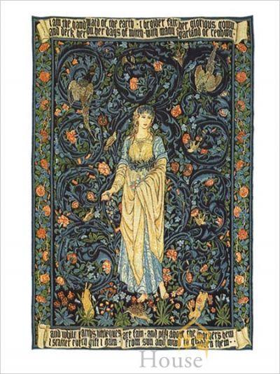 Tapestry Design by Edward Burne-Jones