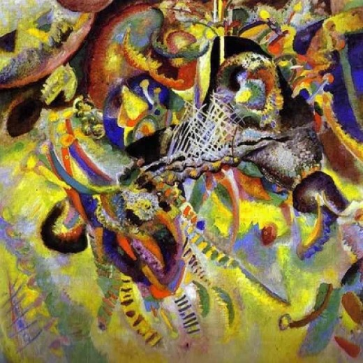 """""""The Fugue"""" by Kandinsky"""