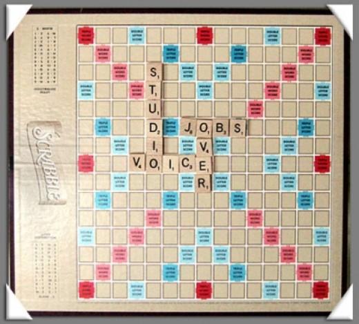 It's Scrabble Baby