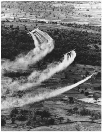 Vietnam Agent Orange Spray Mission