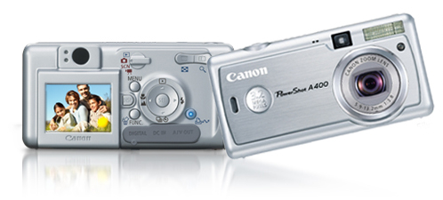 My Canon PowerShot A 400 Digital Camera