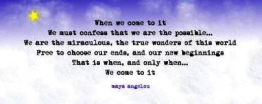 When We Come To It...