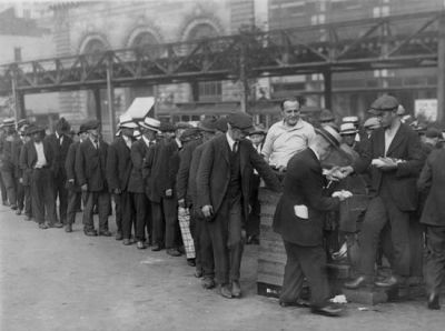 The Bread Lines in 1929
