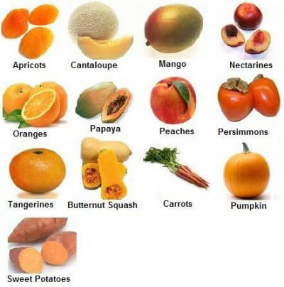 Colorful Orange Foods!