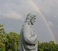 jesus rainbow