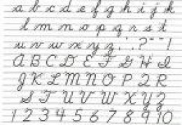 The Cursive That We Once Knew