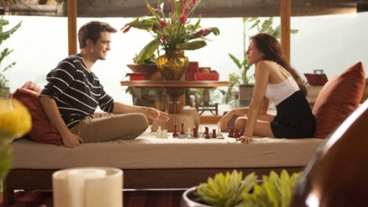 Mr and Mrs. Cullen play chess ;)