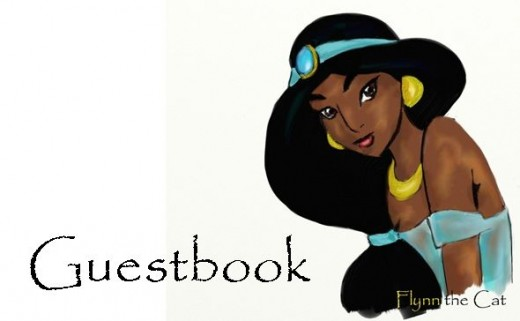 Princess Jasmine by Flynn the Cat