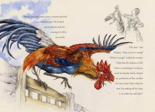 Musicians of Bremen: Rooster