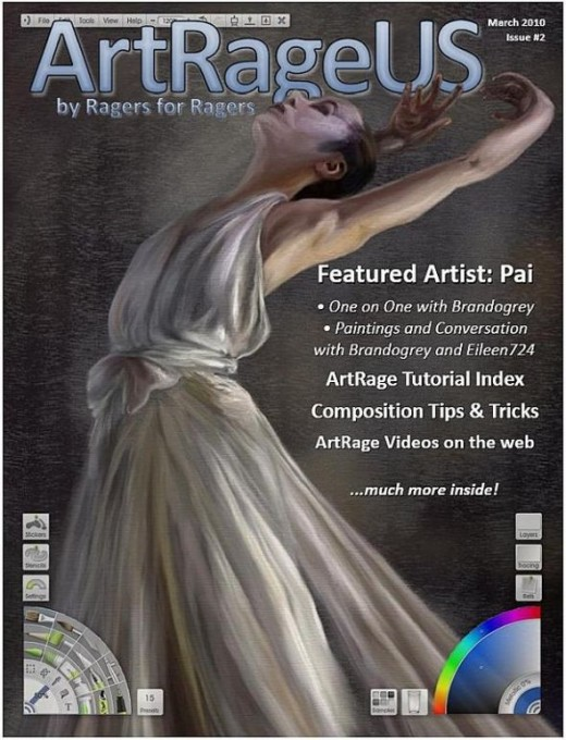 Download the March issue of ArtRageUS here