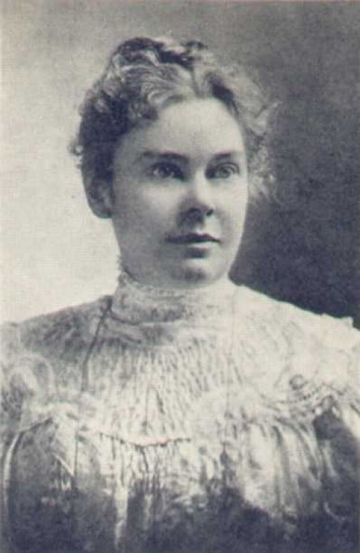 """Lizzie Borden was a 33 year old """"spinster"""" when when her father and step-mother were murdered with a hatchet."""