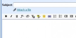 The Paperclip is the symbol to 'attach' documents together with your email