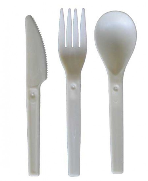 compostable cutlery from GoGreenInStages.com