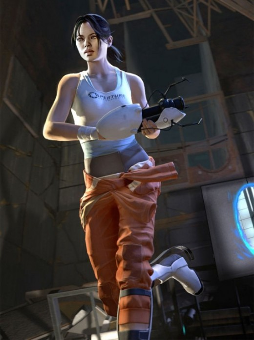 The final Chell design for Portal 2
